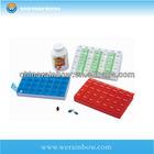 custom plastic travel waterproof pill case