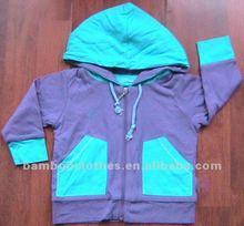 bamboo baby hoodie