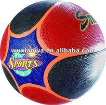 rubber basketball/special mold baksetball/size 7 balls/rubber balls factory