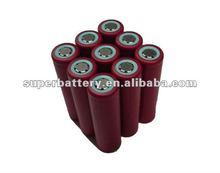 Sanyo 18650 3.7V 2600mAh Li-ion rechargeable battery