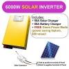 6000w surge 12kw 48V 60A Pure Sine Wave inverter SOLAR power inverter charger