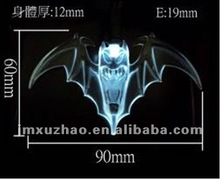 60mm LED Halloween String lights Devil Lights String White LED Green Wire
