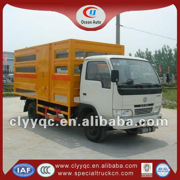 pequeno cilindro de gás de transporte de caminhão para a venda