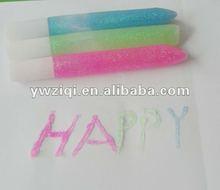 3D rainbow color glitter glue pen for Children Painting