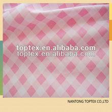 100 algodão cheques impressos tecido lençol