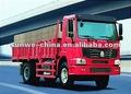 4x2 howo camión de carga/van del chasis del vehículo
