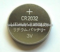 3.0V lithium button battery CR2032