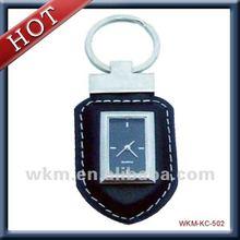 2014 new design fashionable key chain clock