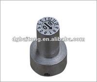 CUMSA date stamp,date insert,mold components