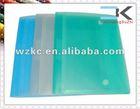 Transparent !! custom made colorful mens document bag