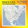 china a estados unidos de contenedores de envío agente