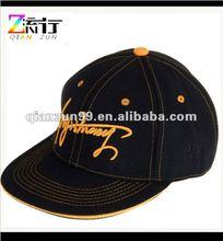3d embroidery flat brim trendy baseball hat