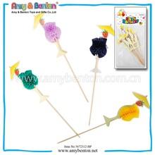 Disposable Stick Pick Party Wood Disposable Pick