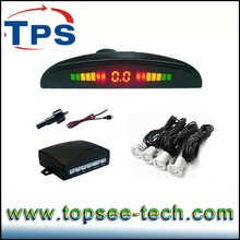 hot color led display auto car reversing parking sensor