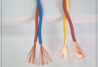 fire resistant PVC twisted flexible wire 450/750V PVC insulated wire, single core flexible PVC coated wire