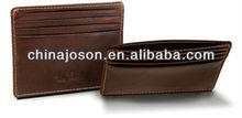 2013 new fashion design Slim PU & Leather Visa Card mini Wallet