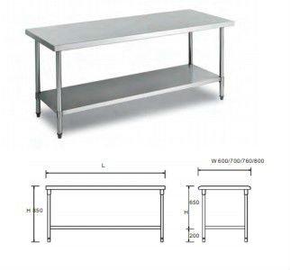 Montage de 2 ponts table de travail de cuisine pliante - Table de jardinage en hauteur ...
