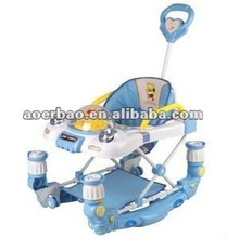 fresh seat Baby Walker,swing walker,baby stroller with electric toys and armrest