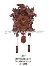 2013 fashion wood imitation grandfather clock(LF52)