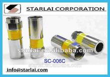 SC-006C F Plug Compression Connector