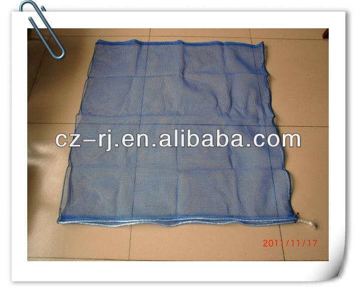 100% virgin HDPE de malha de plástico raschel saco de malha