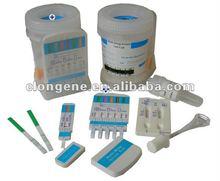 5 common abused Multi Drug Urine Screen Test kit (COC, AMP, mAMP, THC, OPI, PCP)