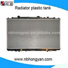 auto radiator with plastic tanks for odyssey