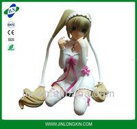 hot sexy anime resin figure/ sexy plastic figure/plastic people figures