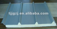Pu panel sandwich for roof