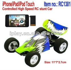 iPhone/iPad/iPod Touch remote Control High Speed RC Stunt Car, M-racer speed king,Stunt Car Racer,iphone toy