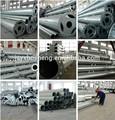 utilidad de postes de acero galvanizado