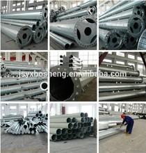 Utility Galvanized Steel Poles