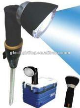 Driving Magnetic LED flashlight 3 watt 180 lumens LED