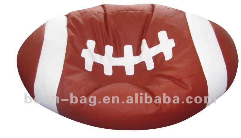 faux leder neu entwarf baseball sitzsack stuhl wohnzimmer. Black Bedroom Furniture Sets. Home Design Ideas