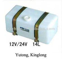 14L bus water tank for wiper motor