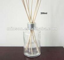 Atacado Reed difusor garrafa de vidro com varas de vime