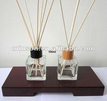 Garrafas de vidro quadrado Reed difusor ambientador em melhor preço