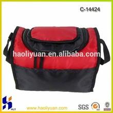 promotional polyester shoulder food bag