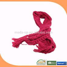 Knit scarf winter muffler ladies scarf