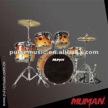 Yellow high gade birch kits jazz drum set/ drums