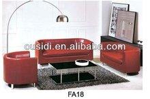 artistic leather sofa(FA18)