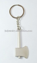 ax shaped metal keyring 2012 new design for couples