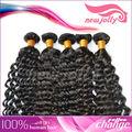 Mejor venta de virgen pelo remy brasileño, de alta calidad, recta/cuerpo/onda profunda en la acción