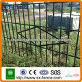 ( fábrica ) hierro recubierto de pvc puerta de la casa de diseños de la parrilla