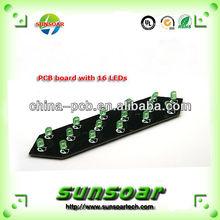 Overlength LED strip pcb, pcb smd led assembly