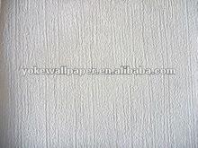 Yoke white pvc wallpaper paint wallpaper