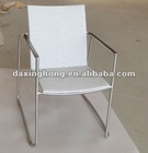 Stainless steel rattan outdoor patio furniture chair