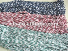 recycled cotton/polyester blended yarn for mop