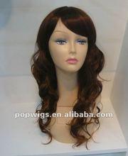 Korea heat fiber syntetic hair wigs