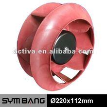 ECF220112 220*112mm 230v backward ec centrifugal fan